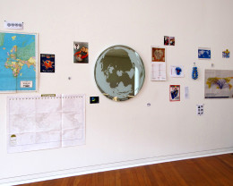 Showing the main work, titled 'Polar', 2011.